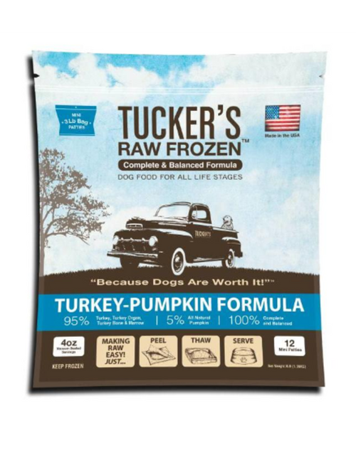 Tucker's Raw Frozen Turkey & Pumpkin Formula