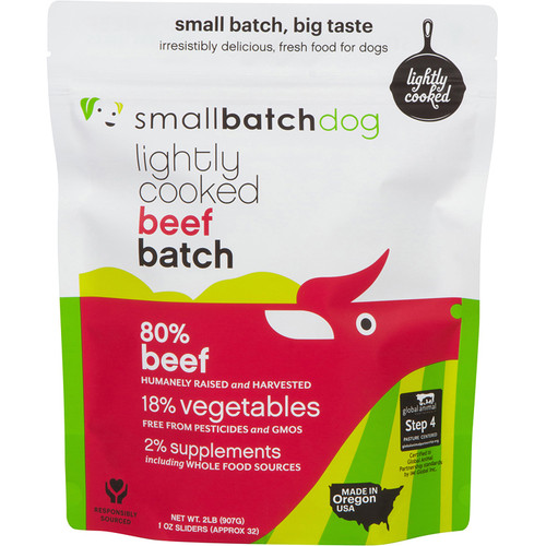 Small Batch Lightly Cooked Beef Recipe 2lb