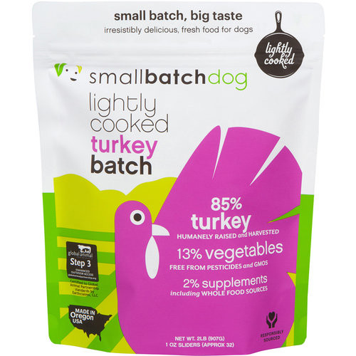 Small Batch Lightly Cooked Turkey Recipe 2lb