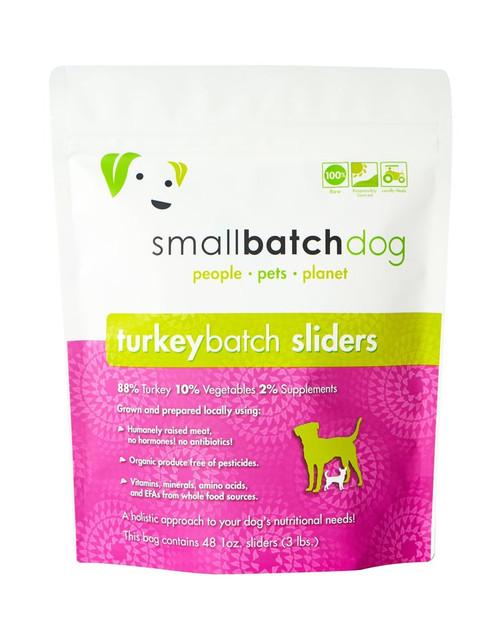 Small Batch Turkey Sliders/Patties