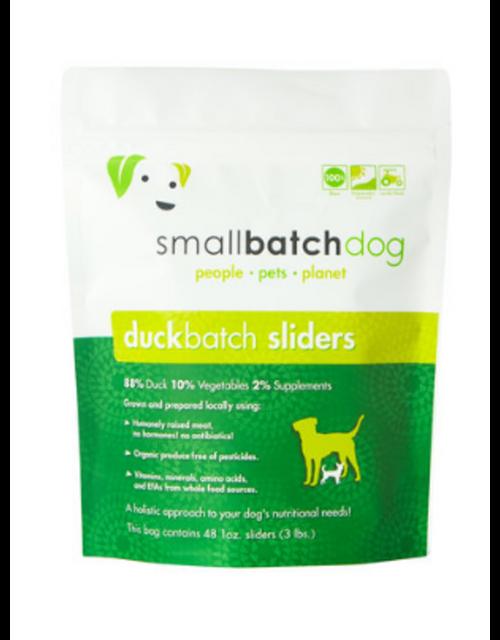 Small Batch Duck Sliders/Patties