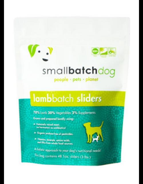 Small Batch Lamb Sliders/Patties