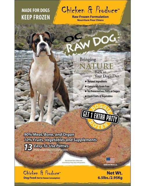 OC Raw Chicken & Produce