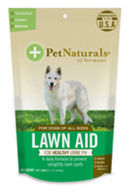 Pet Naturals of Vermont Lawn Aid for Dogs 60 Ct.