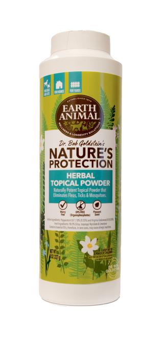 Earth Animal Nature's Protection Herbal Topical Powder