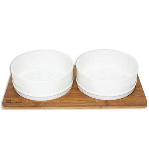 BeOneBreed Bamboo and Ceramic Bowls