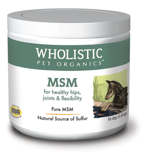 Wholistic Pet Organics MSM 4oz