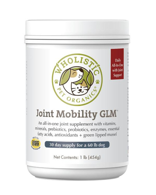 Wholistic Pet Organics Joint Mobility with Green Lipped Mussels