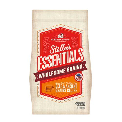 Stella & Chewy's Essentials Ancient Grains Beef Formula