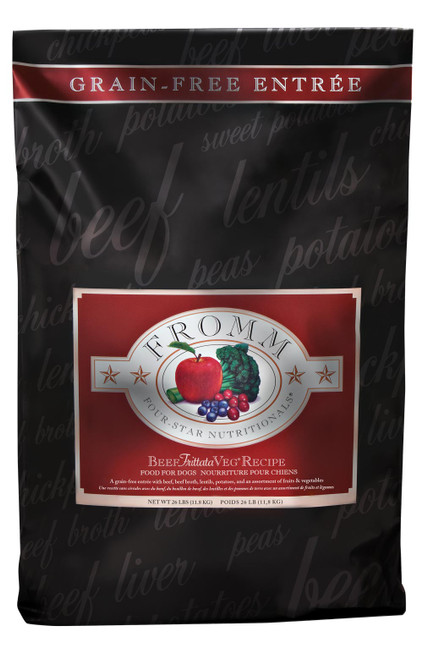 Fromm Four-Star Beef Frittata Veg Grain Free Dog Entree