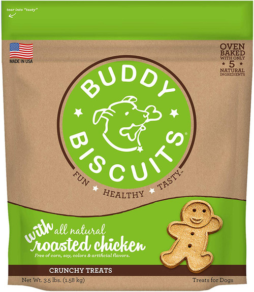 Buddy Biscuits Crunchy Roasted Chicken Flavor 3lb