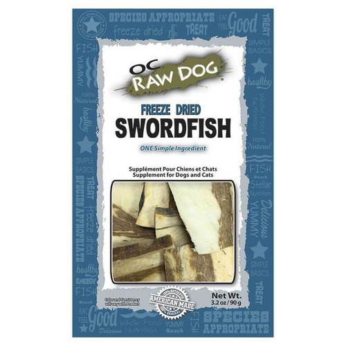 OC Raw Freeze Dried Swordfish Treat 3.2oz