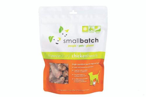 Small Batch Freeze Dried Chicken Hearts 3.5oz