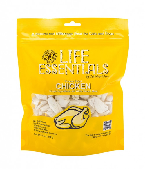 Cat Man Doo Life Essentials Freeze Dried Chicken 5oz