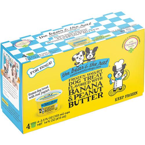 The Bear & the Rat Banana & Peanut Butter Frozen Yogurt