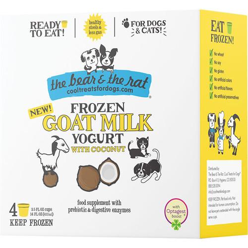 The Bear & the Rat Goat Milk and Coconut Frozen Yogurt