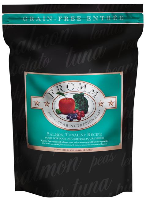 Fromm Four-Star Salmon Tunalini Recipe Grain Free Dog Entree