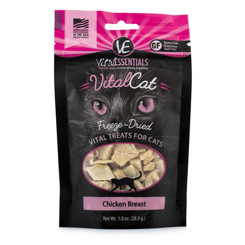 Vital Essentials Freeze Dried Chicken Breast 1oz