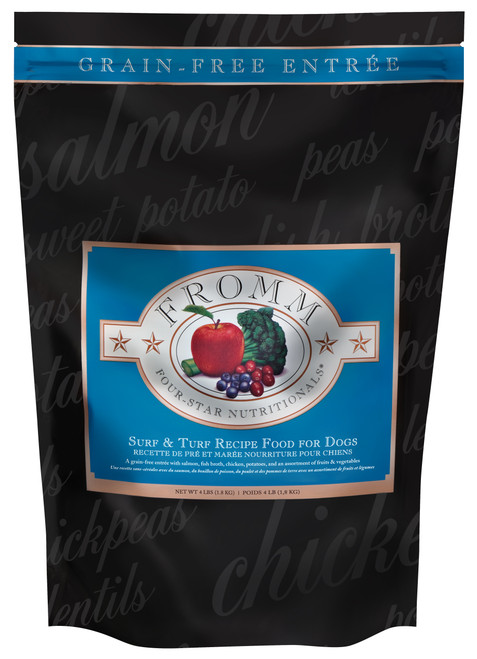 Fromm Four-Star Surf & Turf Recipe Grain Free Dog Entree
