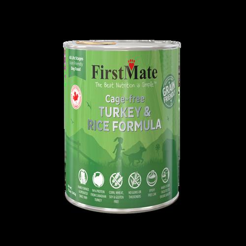 FirstMate Turkey & Rice Grain Friendly 12oz