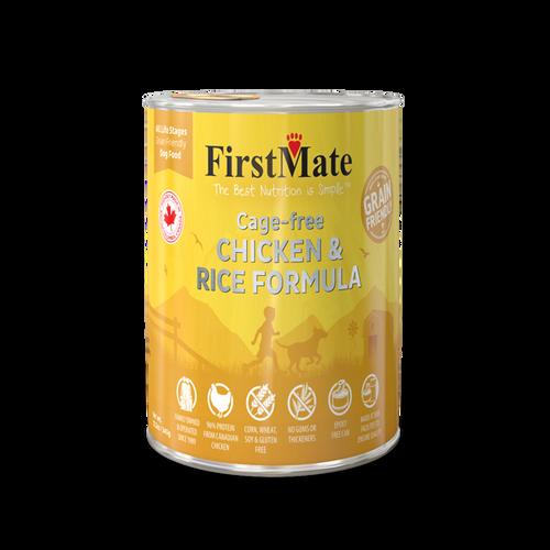 FirstMate Chicken & Rice Grain Friendly 12oz
