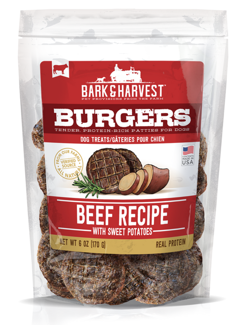 Superior Farms Beef with Sweet Potatoes Burgers 6oz