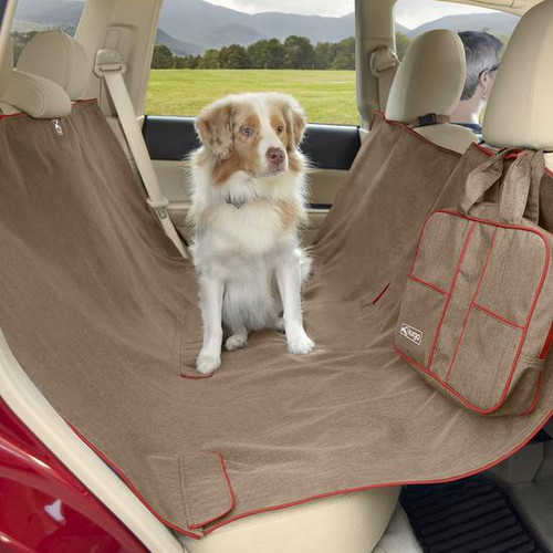 Kurgo Heather Dog Seat Hammock/Cover