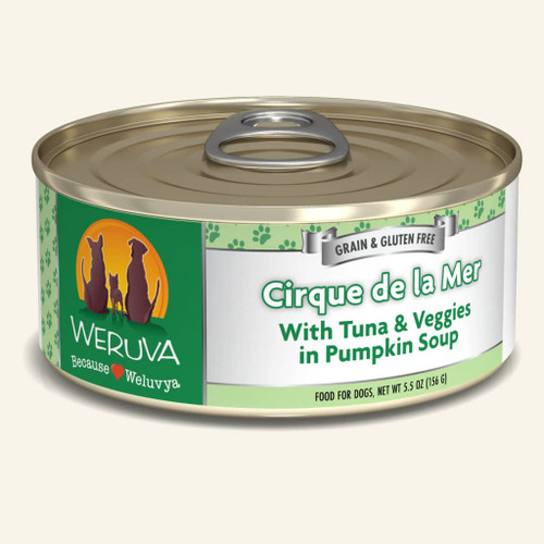 Weruva Cirque de la Mer with Tuna & Veggies 5.5oz