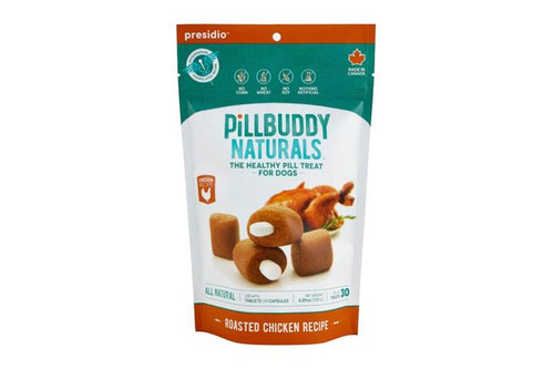 Presidio Pill Buddy Roasted Chicken Flavor 30ct