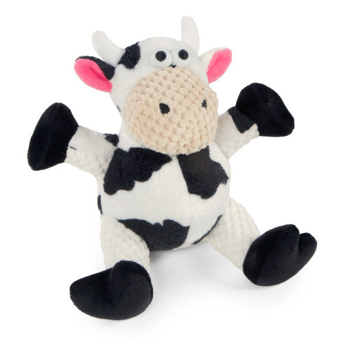 WorldWise GoDog Checkers Sitting Cow