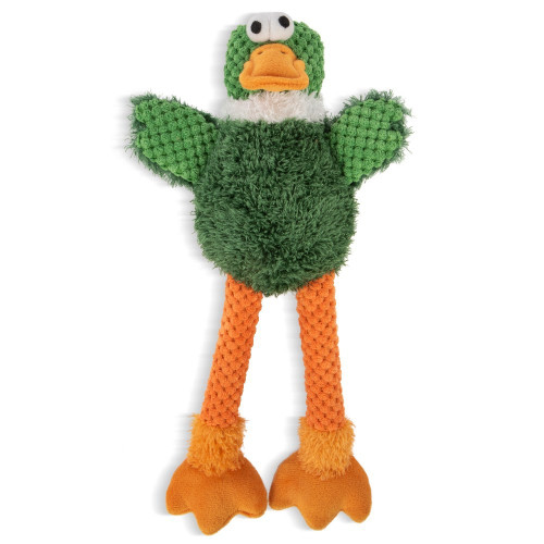 WorldWise GoDog Checkers Skinny Duck