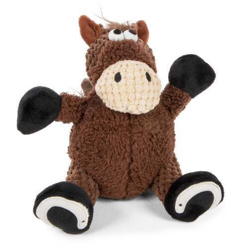 WorldWise GoDog Checkers Sitting Horse
