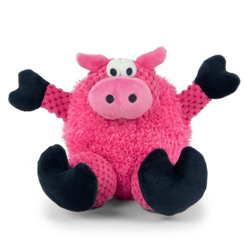 WorldWise GoDog Checkers Sitting Pig