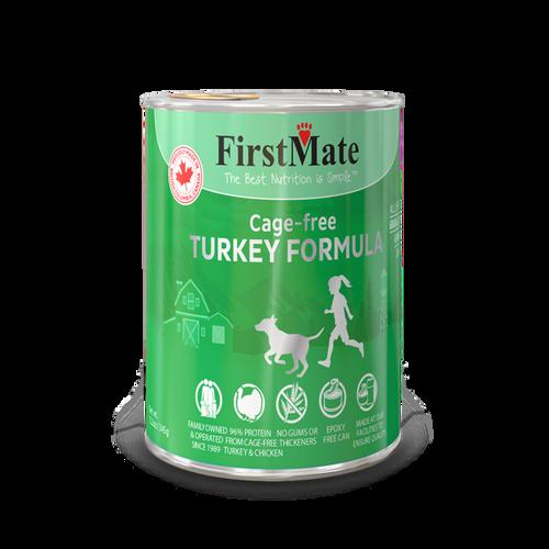 FirstMate Free Run Turkey Formula Grain Free  12oz