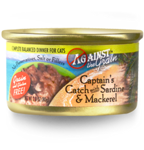 Against the Grain Captain's Catch with Sardine & Mackerel