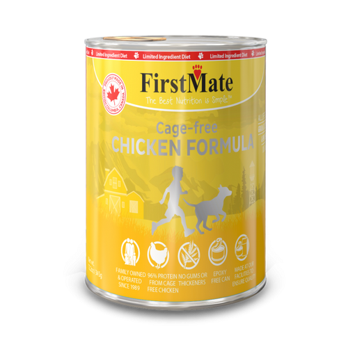 FirstMate Free Run Chicken Formula Grain Free 12oz