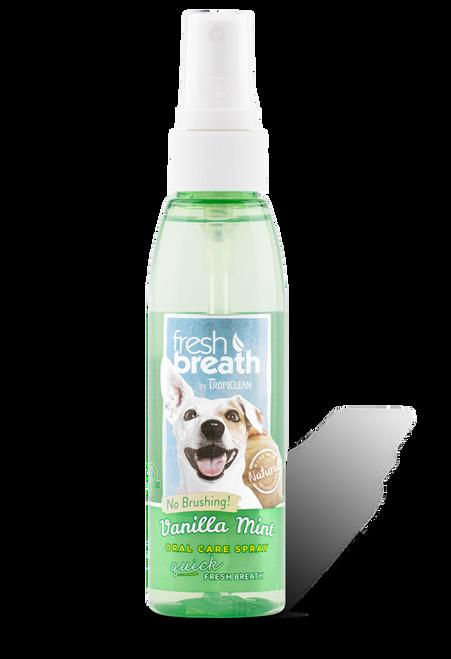 Tropiclean Vanilla Mint Oral Care Spray 4oz
