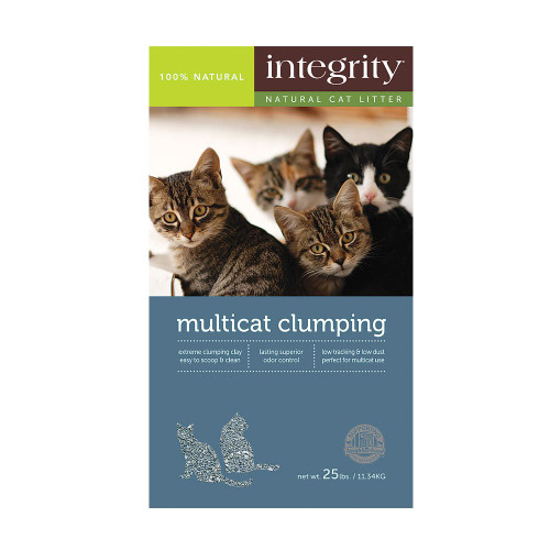 Integrity Multi Cat Clumping Litter 25lb