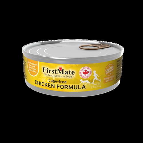 FirstMate Free Run Chicken Limited Ingredient Cat Formula 3oz