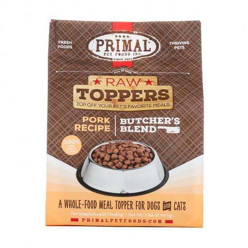 Primal Raw Frozen Butchers Blend Topper Pork Recipe 2lb