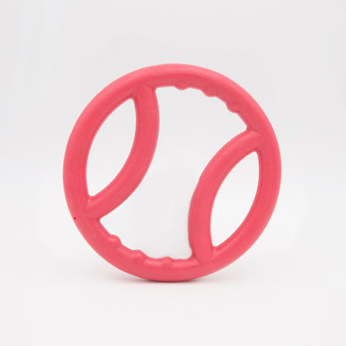 Zippy Paws Tuff Squeaky Ring - Pink