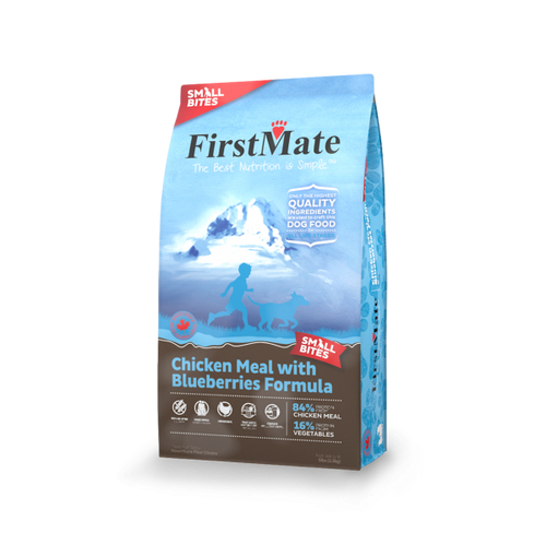 FirstMate Chicken with Blueberries Small Bites Grain Free Formula 14.5lb