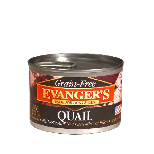 Evanger's Quail Grain Free Food 6oz