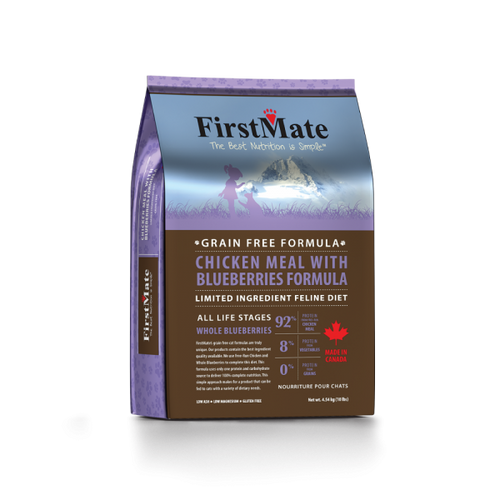 FirstMate Chicken with Blueberries Grain Free Cat Formula