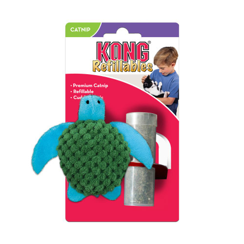 Kong Cat Refillables Turtle