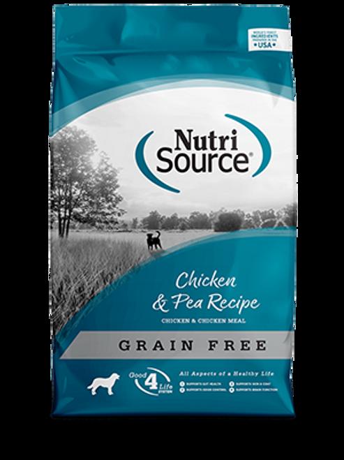 NutriSource Grain Free Chicken & Pea Formula