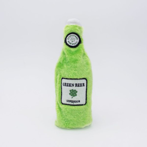 Zippy Paws St Patrick's Happy Hour Crusherz - Green Beer
