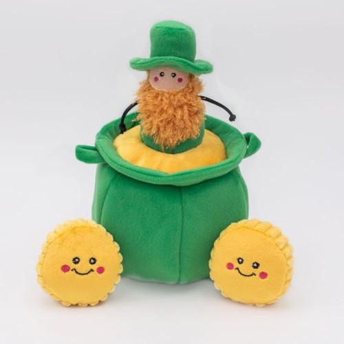 Zippy Paws St. Patrick's Burrow - Pot of Gold