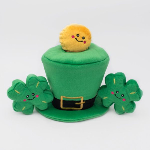 Zippy Paws St. Patrick's Burrow - Leprechaun Hat