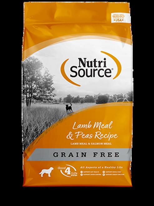 NutriSource Grain Free Lamb & Pea Formula